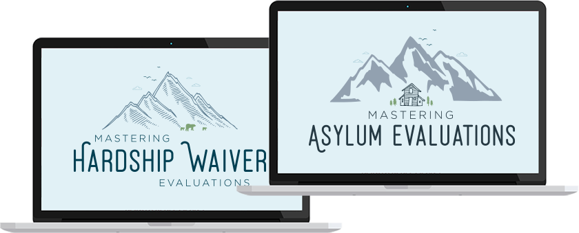 Mastering Hardship & Asylum Evaluations Course for Therapists