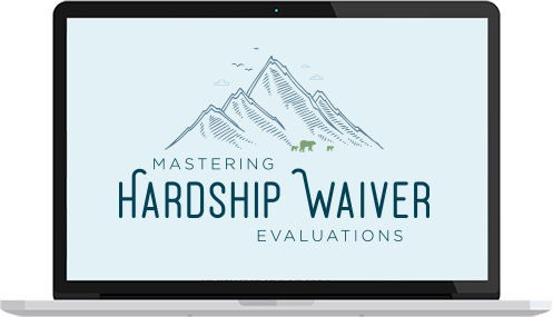 Mastering Hardship Evaluations Course for Therapists